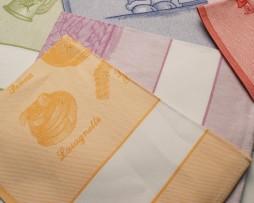 Strofinaccio cotone con tela aida cm. 60×80